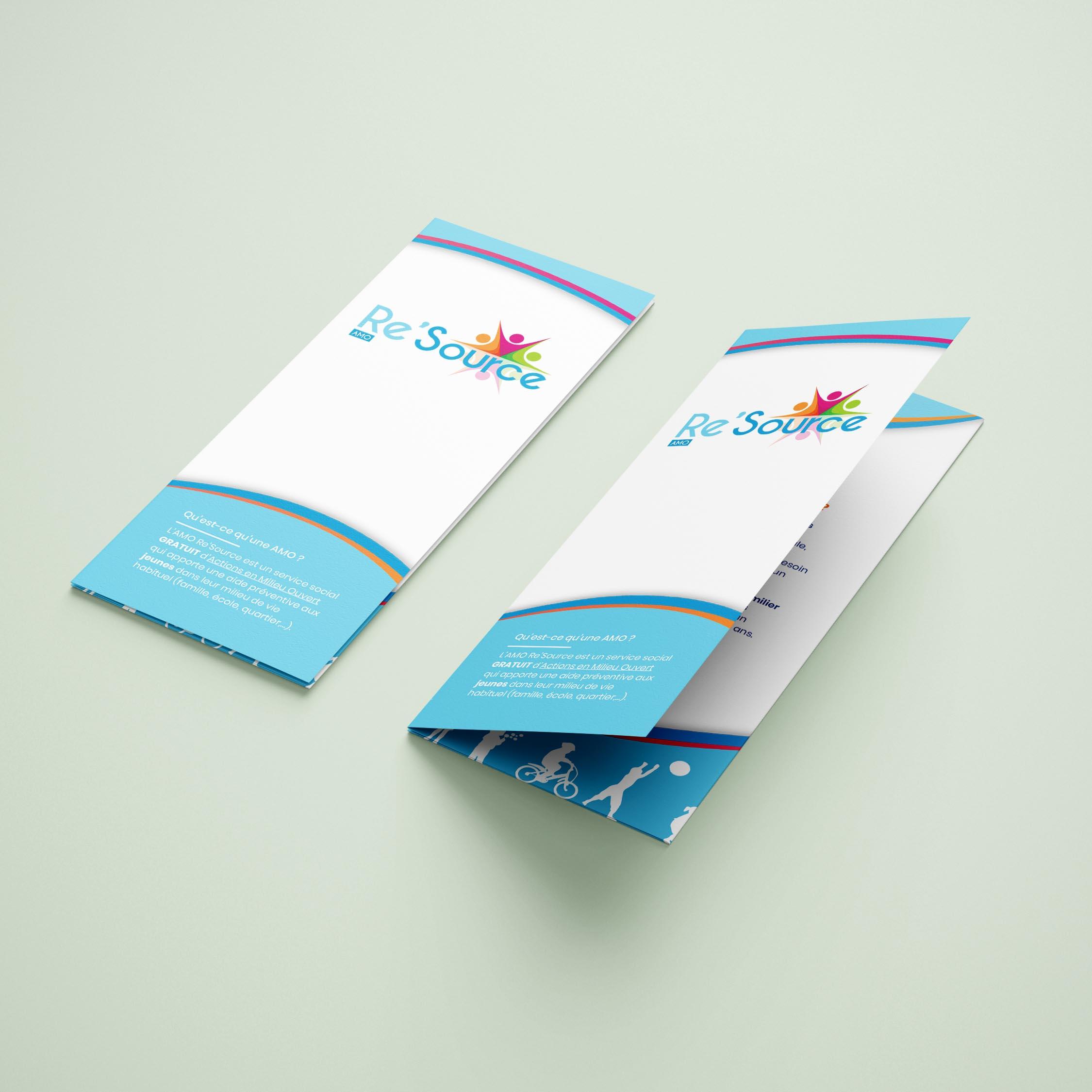 Impression petit format - brochure et dépliant