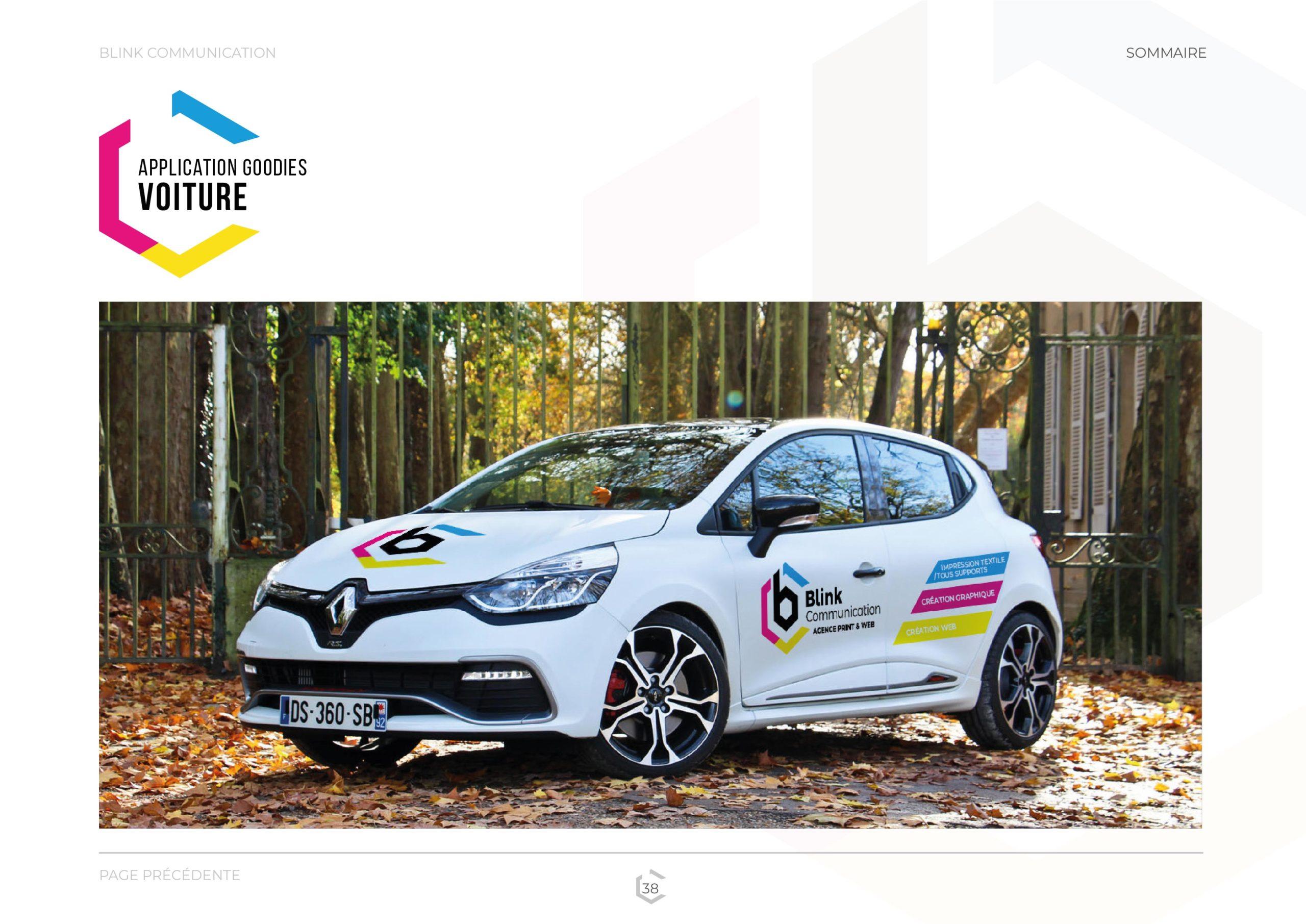 CG - Lettrage véhicule