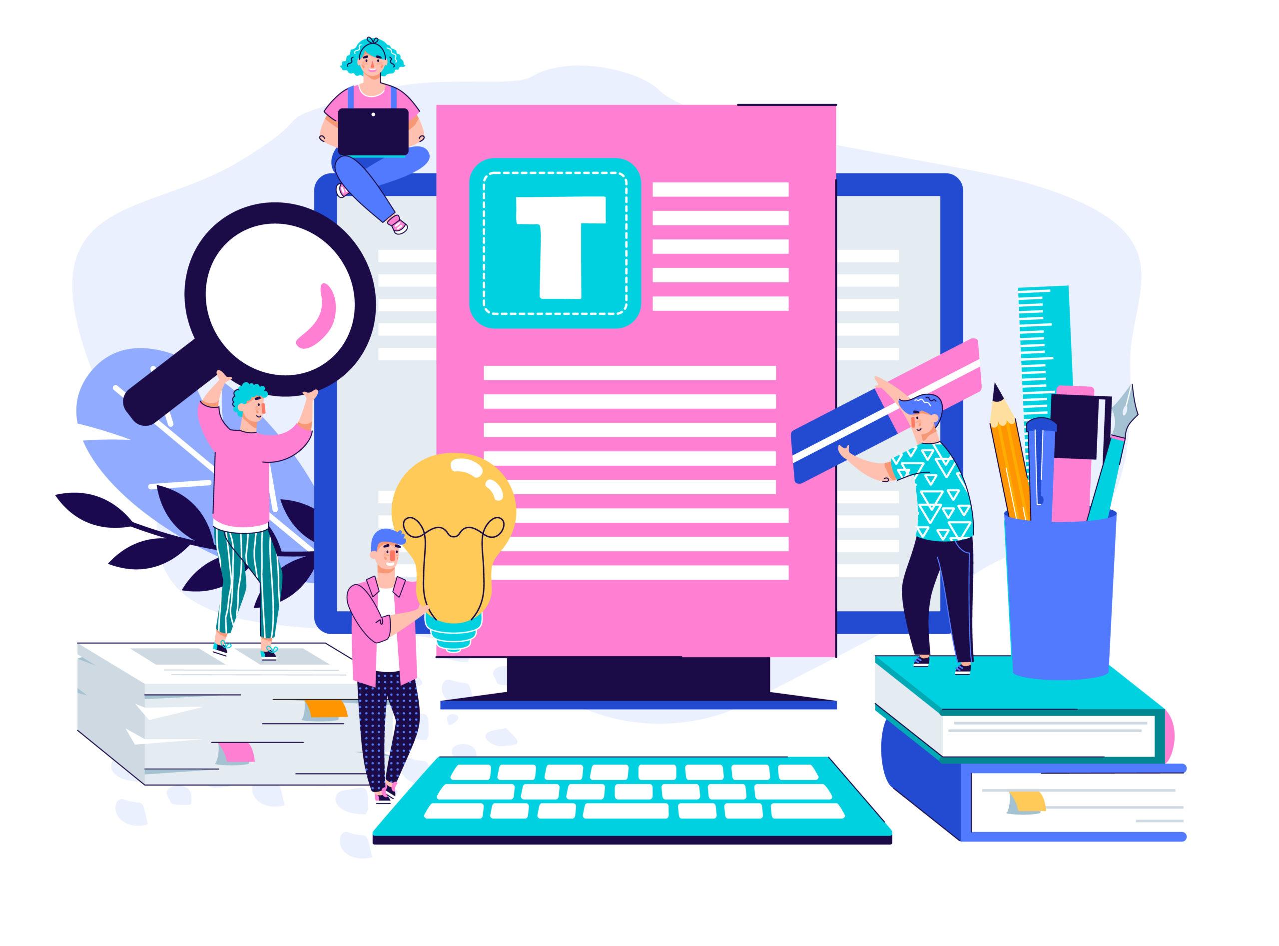 rédaction de contenu web - Blink Communication